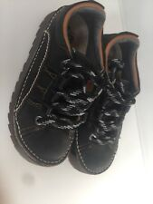 Women's The Art Company Black Leather Skyline Shoes Uk3 EU36