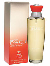 Diavolo by Antonio Banderas for Women 3.4 oz EDT - BRAND NEW IN BOX