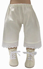 "Made in USA Cream Pantaloons for 18"" American Girl Doll Clothes Kirsten Rebecca"