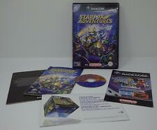 Nintendo Gamecube Pal Game STARFOX ADVENTURES with Box Instructions COMPLETE Set