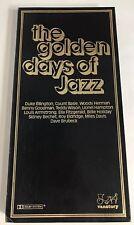 The Golden Days of Jazz 1979 Vanstory 3 Cassette Tape Set + Case Count Basie