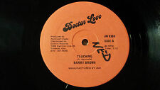 "Barry Brown - Teaching / Do The Right - Reggae 12"" on Doctor Love Label Canadian"
