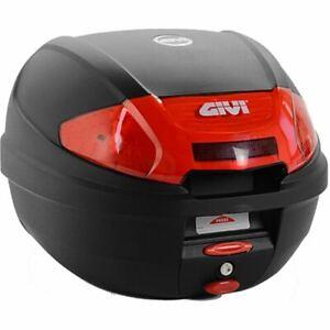 BAULETTO TOP CASE MOTO SCOOTER GIVI E300N2 CON PIASTRA MONOLOCK 30 LITRI