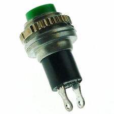 Momentary Push Button Switch SPST d:10mm Green