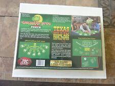 Texas Hold'Em Poker Trainer 10 Poker Card Games Caribbean Stud Poker BRAND NEW