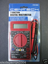 Cen-Tech 7 Function Digital Multimeter Item 69096 Electrical Test Meter