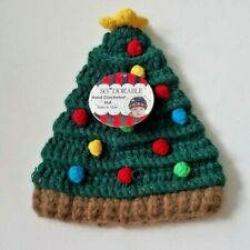 Baby Hat So'Dorable Hand Crocheted Christmas Tree Hat 0-6 months