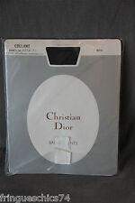 collant poliammide seta nero CHRISTIAN DIOR SOTTILE CRISTALLO JET taglia 9 (2)