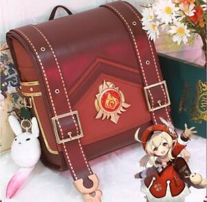 Game Genshin Impact Klee Spark Knight Cute Backpack Shoulder Bag Loli Cosplaybag