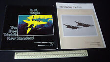 Catalogues Vintage 1977. McDonnell Douglas F-15 USAF Air Superiority Fighter