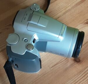 Olympus IS-500 35mm Film All in one SLR Camera + case, strap & instruction book