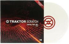 Traktor Scratch Control Vinyl mk2 white vinyl timecode