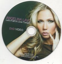 Angelina Lavo Let's Fall in Love Tonight Rare Promo DVD Video