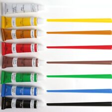 8x KIDS WATERCOLOUR PAINT SET 6ml Tubes Artist Painting Kit Washable Arts Craft