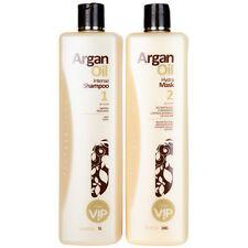 VIP Argan Oil Keratin Formaldehyde-Free Brazilian Keratin Blowout Treatment 2X1L