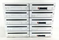 10 x FAULTY Nintendo Wii Consoles Job Lot Bundle White Spares Repairs Consoles