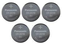 5 Pcs Super Fresh Panasonic Lithium ECR2016 CR2016 CR 2016 3V Batteries EXP 2028