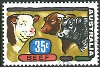 Australia 1972 MNH CTO 35c Beef Caricature Stamp issue Primary Industries series