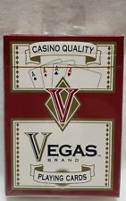 Casino Quality Vegas Brand Playing Cards Unopened in Plastic NEW