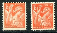 STAMP /  TIMBRE FRANCE NEUF N° 435 ** TYPE IRIS VARIETE DE COULEUR