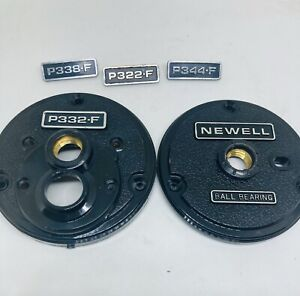 SALE! Newell P Series Plates For Any 300 Reel Includes BADGES (all Sizes)