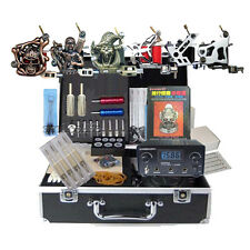 All Tattoo Equipment power Complete 6 Machine Tattooing coils Power sets