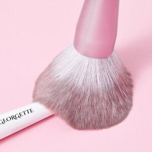 Original GEORGETTE 10pcs Professional Vegan Cruelty-free Super Soft Makeup brush