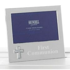 First Holy Communion Photo Frame with Embossed Cross- New Quality Gift 74500