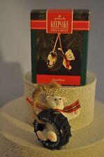 Hallmark - Tread Bear - Bear Paw Tires - Tire Swing & Polar Bear - Ornament