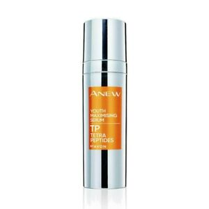 AVON Anew Youth Maximising Face Serum with Tetra Peptides 30ml NEW