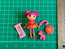 Lalaloopsy Mini Lady Writes a Poem Doll Pet & Accessories Complete Set Lot L509