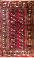 "Turkoman Rug,3' x 5'2""   #17114, Remarkable"