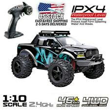 RC Monster Truck Car 1:10 Scale 4WD 2.4Ghz Off-road Remote Control Car