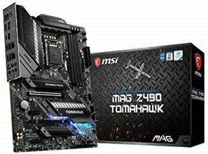 MSI MAG Z490 TOMAHAWK Motherboard Intel Socket 1200 Intel Z490 Chipset