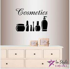 Vinyl Decal Cosmetics Beauty Supplies Makeup Artist Beauty Salon Shop 184