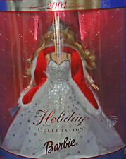 Barbie 2001 Special Edition Holiday Celebration NIB Factory Sealed Collectible