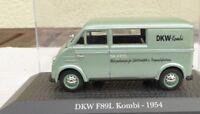 ATLAS Verlag 1:43 Spur 0 DKW F89L Kombi, Güter-und Personenbeförderung von 1954