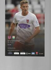 PROGRAMME - DAGENHAM & REDBRIDGE v BARNET - 5 OCTOBER 2019