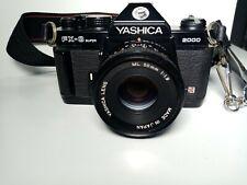 Yashica Fx3super 2000 Con Obiettivo 50 mm 1.9