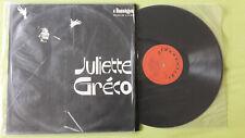 Juliette Gréco, LP AMIGA 8 40 034, phonoclub