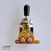 Selecteur Switch 3 ways Toggle style Switchcraft Japon Gold Contact