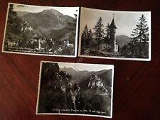 Cartolina Cantoniera della Presolana lotto di 3 cartoline anni '50