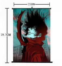 Hot Japan Anime Hellsing Alucard Cosplay Home Decor Poster Wall Scroll 21*30CM