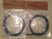 Pro-Lite Stealth Rear Brake Cable Blue x2