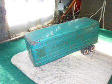 Structo Pressed Steel Kroehler Furniture Truck & Trailer VINTAGE Trailer ONLY