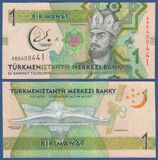 TURKMENISTAN 1 Manat 2017 UNC  P. NEW