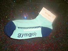 GYMBOREE GYMGO BOY'S ANKLE SOCKS-BLUE-SIZE: SMALL (SHOE SIZE 11-12)-NEW