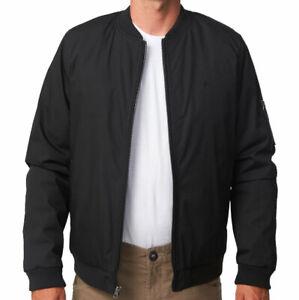 Volcom Hernan Bomber Black Mens 5K Jacket