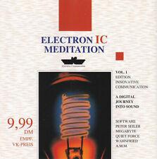 Electron IC -  Meditation - CD neuwertig  -  Massage Musik , Relaxen , ruhig