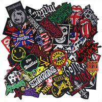 Iron on Patch Band Punk Rock N Roll Reggae HipHop Music Wholesale DIY Random